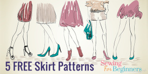 5 Free Skirt Patterns