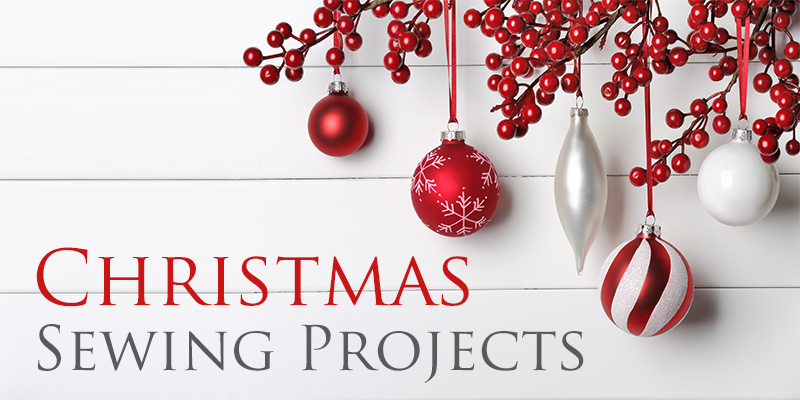 FREE Christmas Sewing Projects - Easy Sewing Projects!