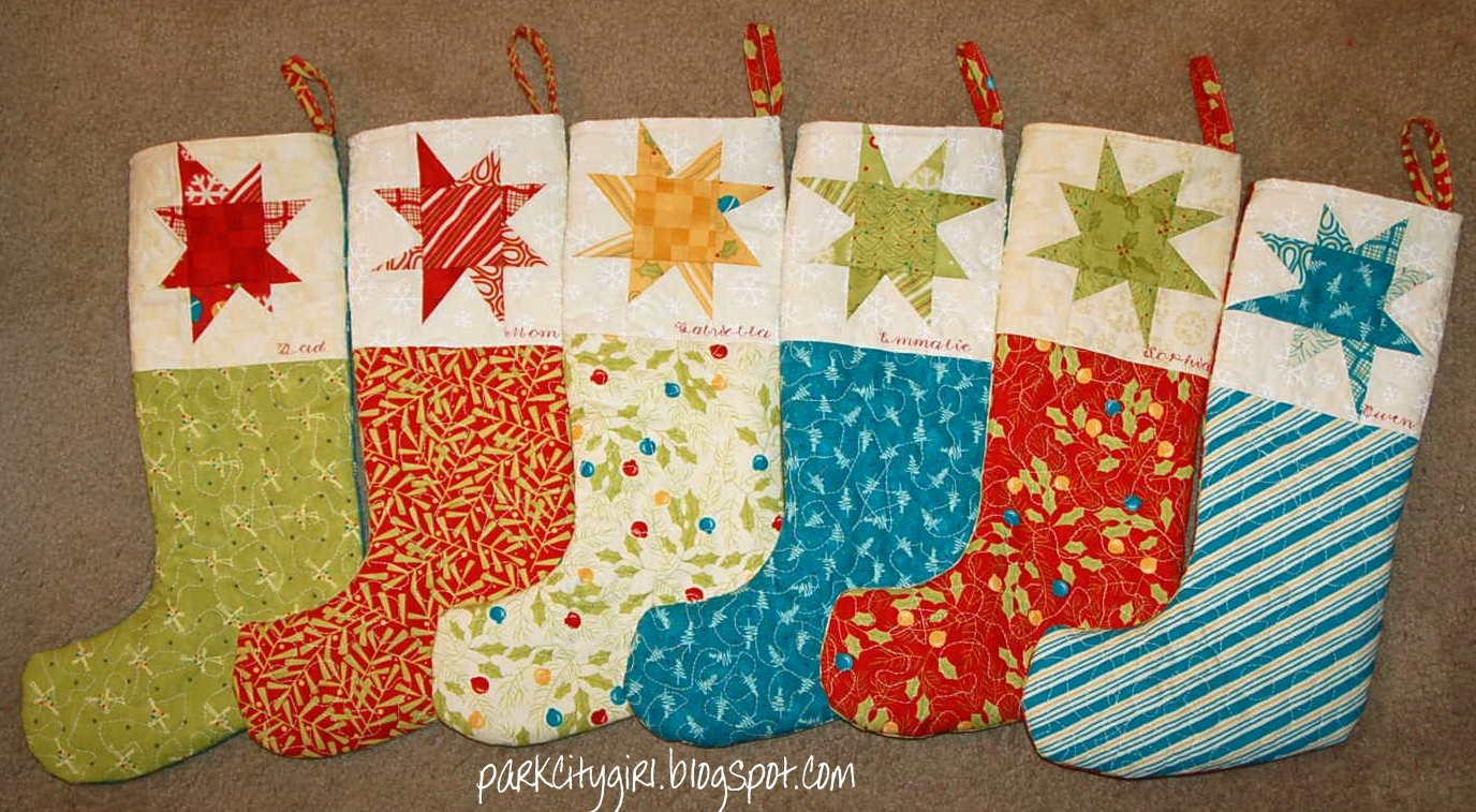 Christmas Sewing Craft Ideas Part - 17: Make Christmas Stockings