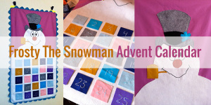 Frosty The Snowman Advent Calendar