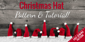 How to Make a Fleece Santa Hat